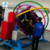 china hot sale indoor game outdoor park entertainment human gyroscope ride 3D space ring