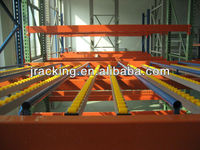 Easy Loading and Unloading Pallet Flow Rack For Carton Paper Cardboard Box