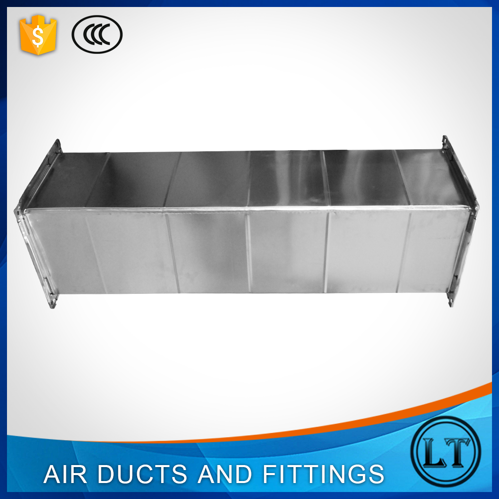 High quality square metal ventilating air duct and fitting