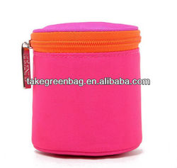 Round cosmetic case makeep case