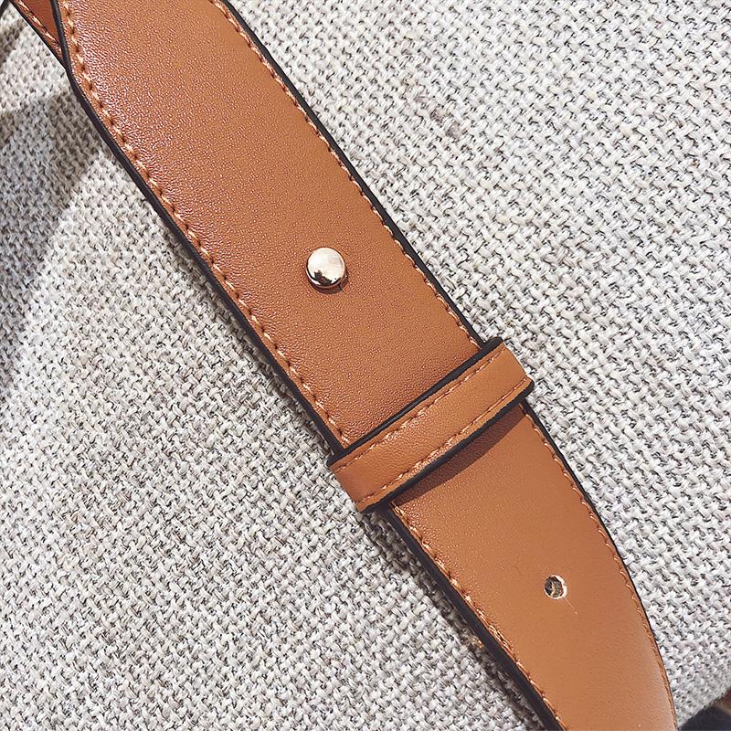 Toposhine Fashion Women Bag Panelled Vintage Flower Girls Bags for Girls Black PU Leather Women Messenger Bags Drop Shipping 19