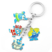 promotional metal cute animal key chain