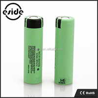 Original NCR18650b 3.7V 3400mah lithium ion cells for 18650 batteries