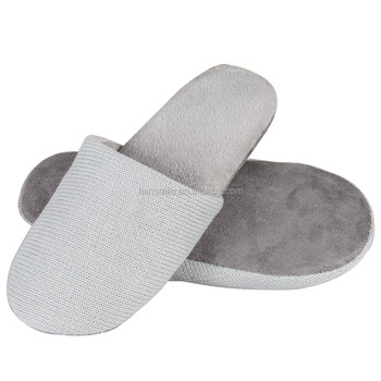 hot selling Personalized comfortable knitted fabric Hotel Slippers