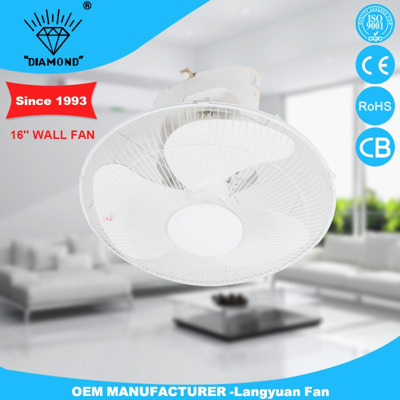New style 16 inch wall fans with various color selection