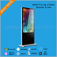 Customized Good Price Advertising Player/Touch Screen Kiosk for sale