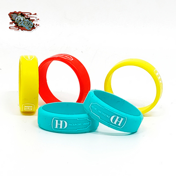 HD OEM VAPE BANDS mix color silicone rings for Christmas gift