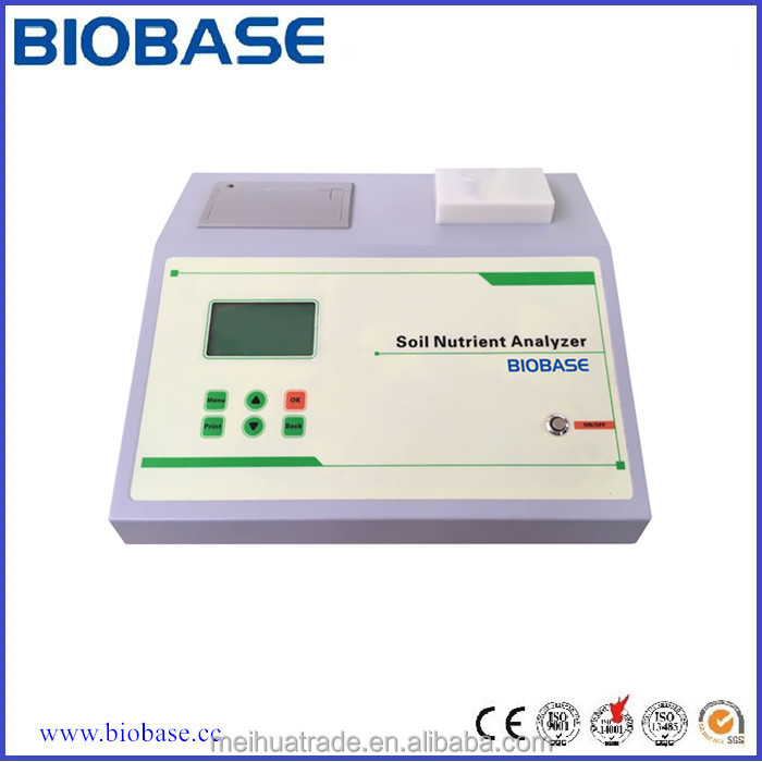 BIOBASE Laboratory Soil Nutrient Tester, Soil Moisture Meter, Nutrient Rapid Tester with LCD display