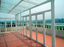 clear plastic solid polycarbonate plastic as roof heat protection