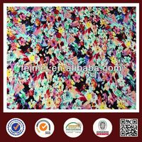 polyester DTY four way strech digital printed fabric