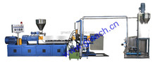 Twin screw waste recycling machine/ plastic recycling extruder granulator