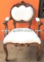 Antique Reproduction French Dining Chair - Single Seat Living Room Sofas