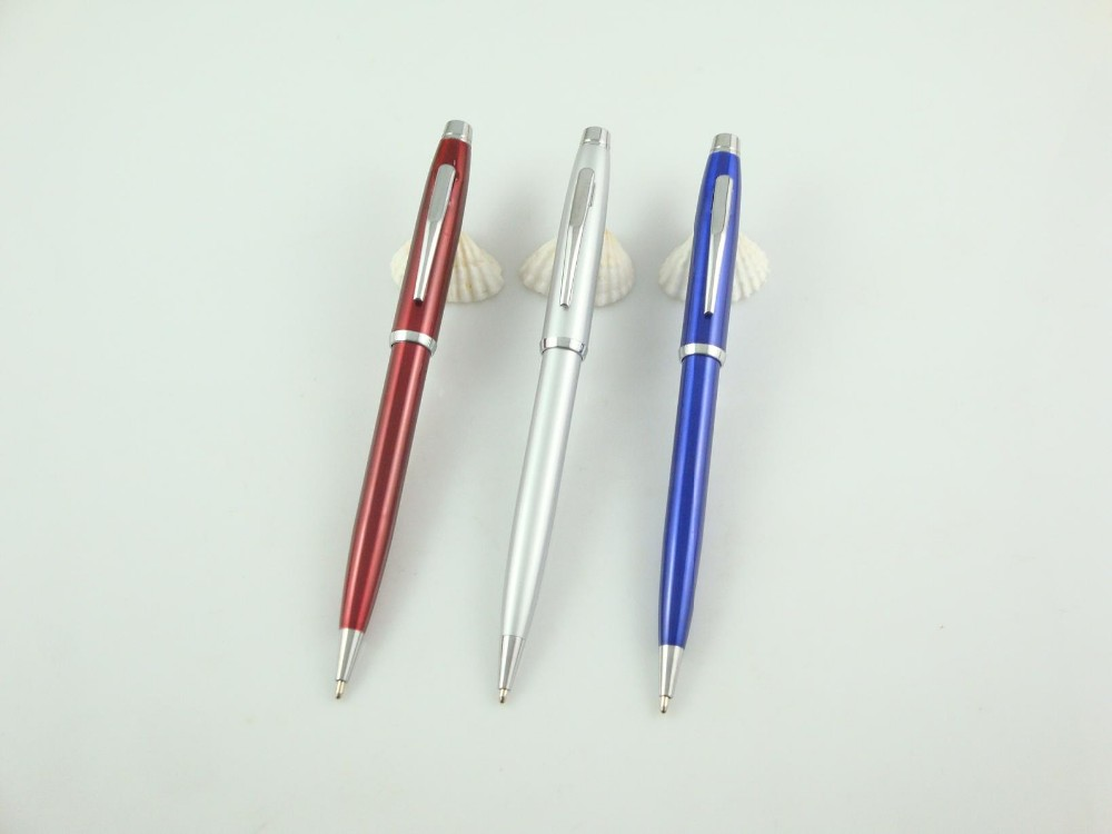 Factory direct sell cheap alumimun promotional ballpoint pen custom logo multiful ball pen