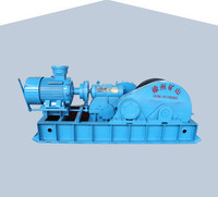 120KN mining slow winch with 150 meters drum capacity