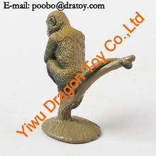 Wholesale cute small plastic monkey toys
