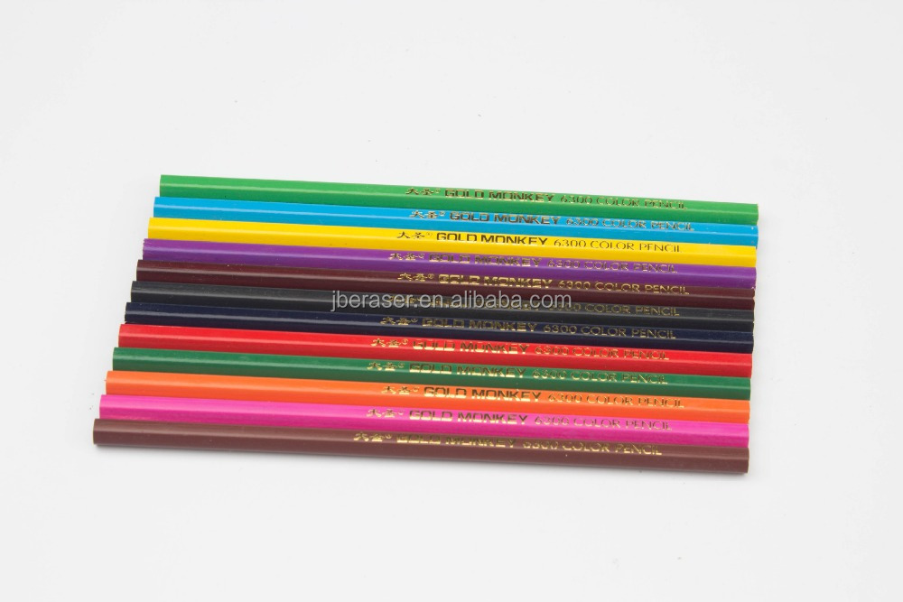 Hot sale factory supply promotional advertising color lead pencil