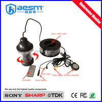 China wholesale 700 tvl night vision 360 degree rotation 100m underwater fishing camera BS-ST07A