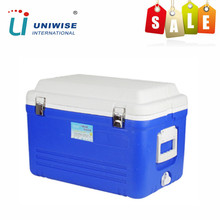 38L Food Grade Insulated Plastic Rotomolded Ice Cooler Box for Picnic Car Ice Chest and Camping Cooler