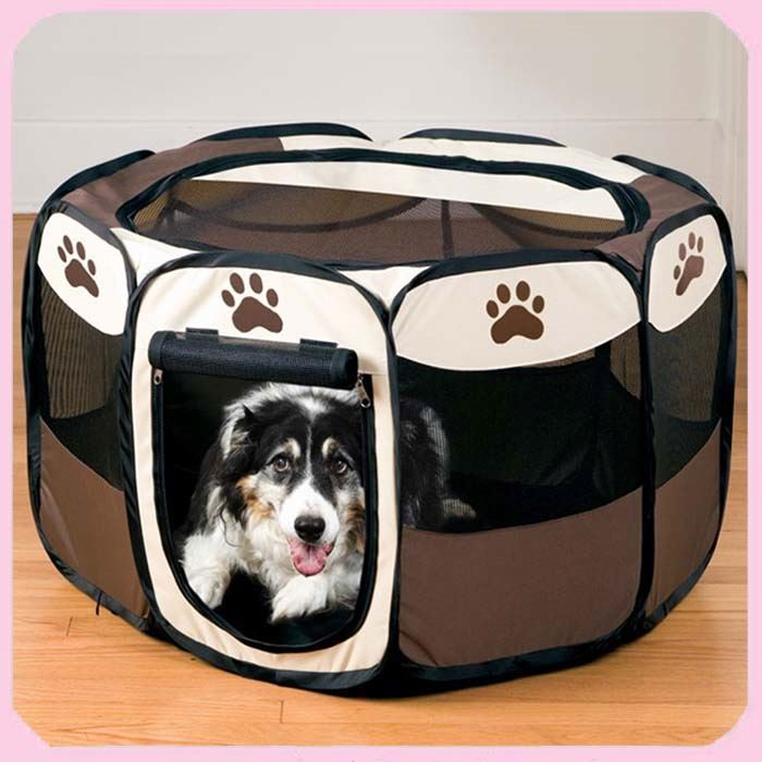 United States Pet Stone Foldable Playpen Oxford Portable Pet Playpen