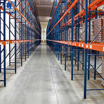high quality Q235 steel heavy duty warehouse storage pallet rack