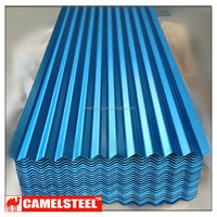 coated lowes corrugated metal roof supplier from camelsteel