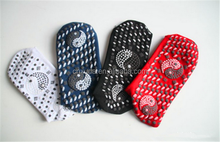 Alibaba china Healthcare tourmaline self-heating socks in stock red,black, white, red color can be choose