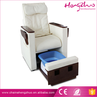China Manufacturer Electric nail spa pedicure massage chair for foot rest