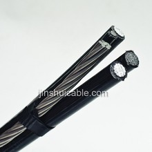 Aerial bundled cable (ABC cable) AL/XLPE(HDPE)+ALLOY(ACSR)