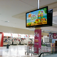 Smart Indoor Advertising Floor Standing Digital