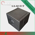 600w 12inch passive speakers horn load musical equipments Q-121T