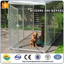 2016 new Dog Use Low Price Easily Assembled And Safe Wrought Iron Steel Fencedog Cages Kennels ISO certificte