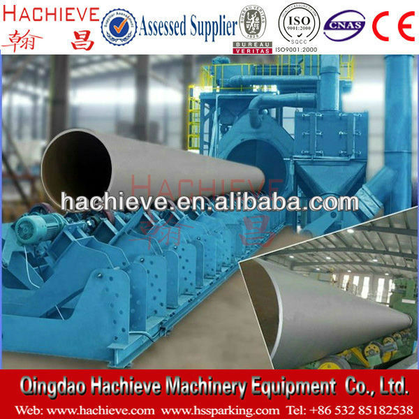 Japan inner pipe shot blasting machine/tube shot blasting machine
