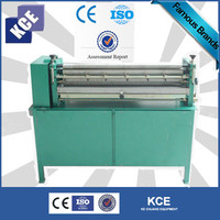 White latex glue coating machine for cards/paper gluing machine