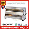 F001 Stainless Steel Electric Display Counter Warmer/fast food equipment