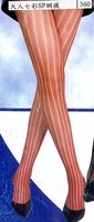 adult multi-colored SP net tights