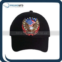 LED Light Baseball Cap With Eagle