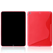 For ipad silicon case, silicon tablet cover case for ipad air