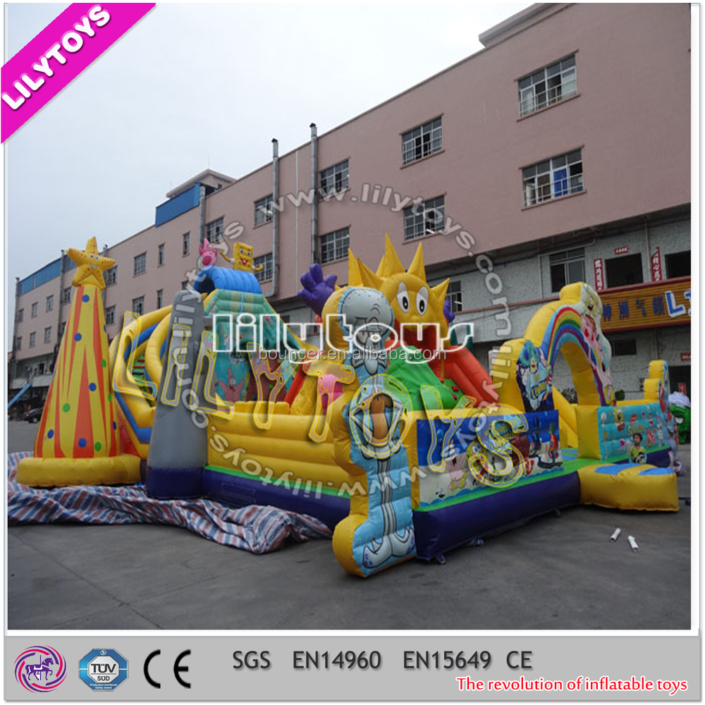Inflatable Playground Rentals on Sale