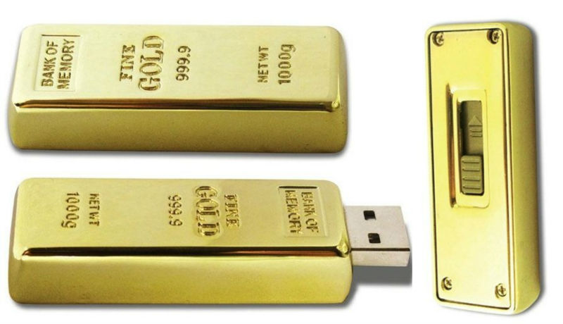 OEM gold bar usb memory stick 8gb ,full capacity 8gb usb flash disk gold bar ,gift gold bar usb stick for South Africa
