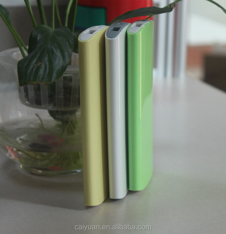 2015 New high smartphone external battery 5300mAh power bank