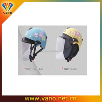 Factory price D220A full face safety cute motorcycle helmet