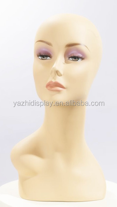Wholesale cosmetology mannequin heads,realistic makeup head