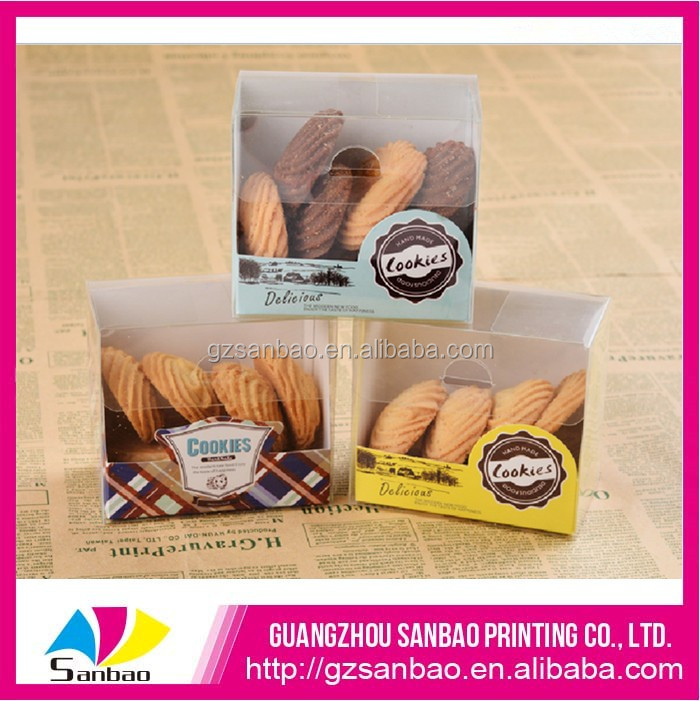 new products biscuit cookie box packaging, plastic cookie packaging