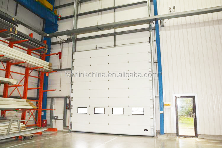 Automatic Industrial Warehouse Double Steel Overhead Sectional Door  /sliding Door With Top Quality Motor   Buy Overhead Sectional Door,Top  Quality Motor ...