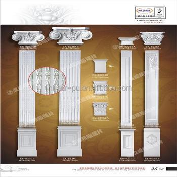 Easy Installation Decorative Columns Decorative Foam