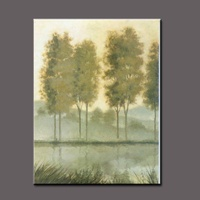 BC13-7649 High quality handmade tree landscape oil painting For Decor