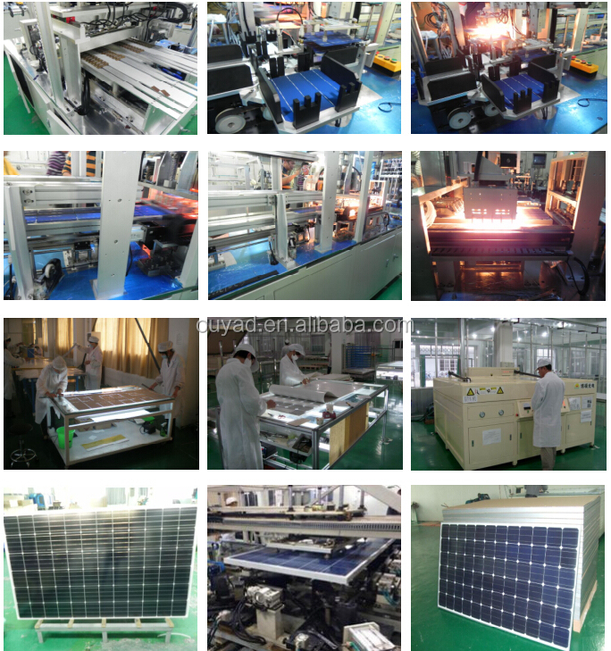 High efficiency 320W Mono solar panel for house