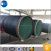 Plumbing materials natural gas pipeline carbon steel pipe with FBE coated for natural gas transportation.