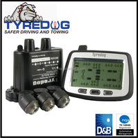 Wireless truck tpms system with external sensors