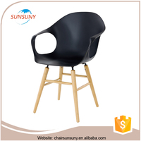 Modern fancy quality low price vendor colored dining chairs